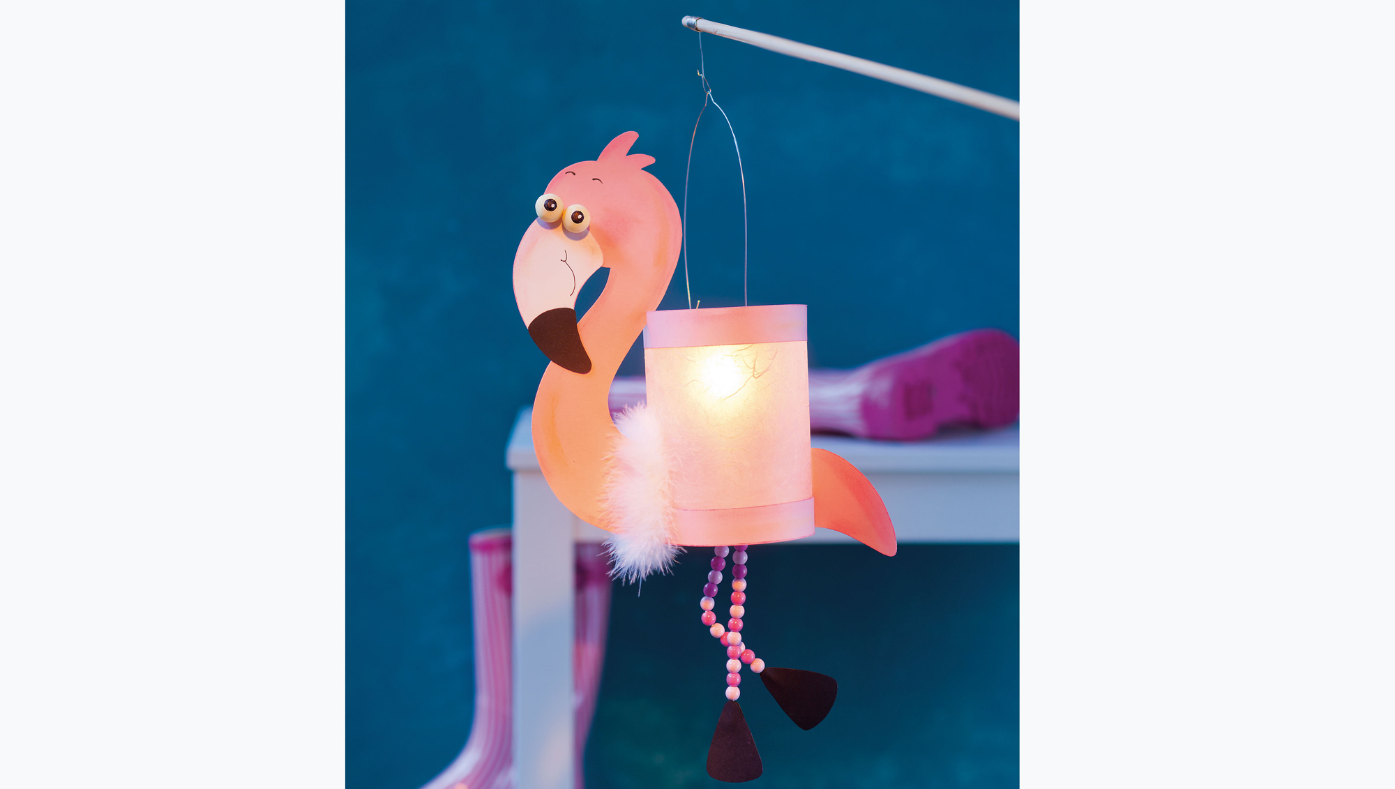 Flamingo Laterne Basteln Pretty In Pink